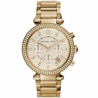 Michael Kors Parker Crystal Gold Chronograph Champagne Dial WatchMK5354 Price Philippines