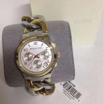 MICHAEL KORS Runway Twist Chronograph two-tone Ladies Watch MK3199