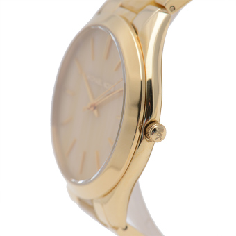 Michael Kors Slim Runaway Women's Gold Acetate Strap Watch MK4285 - picture 2