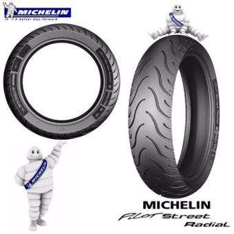 MICHELIN MOTORCYCLE TIRE 110/70 R17 54 H PILOT STREET RADIALTUBELESS