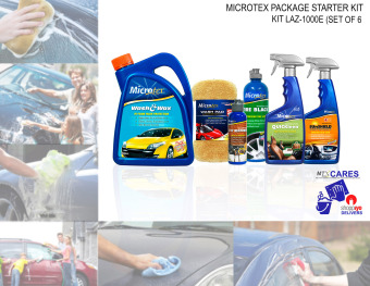 Microtex 1000E Car Care Kit 6-piece Set (Bundle Series) Price Philippines