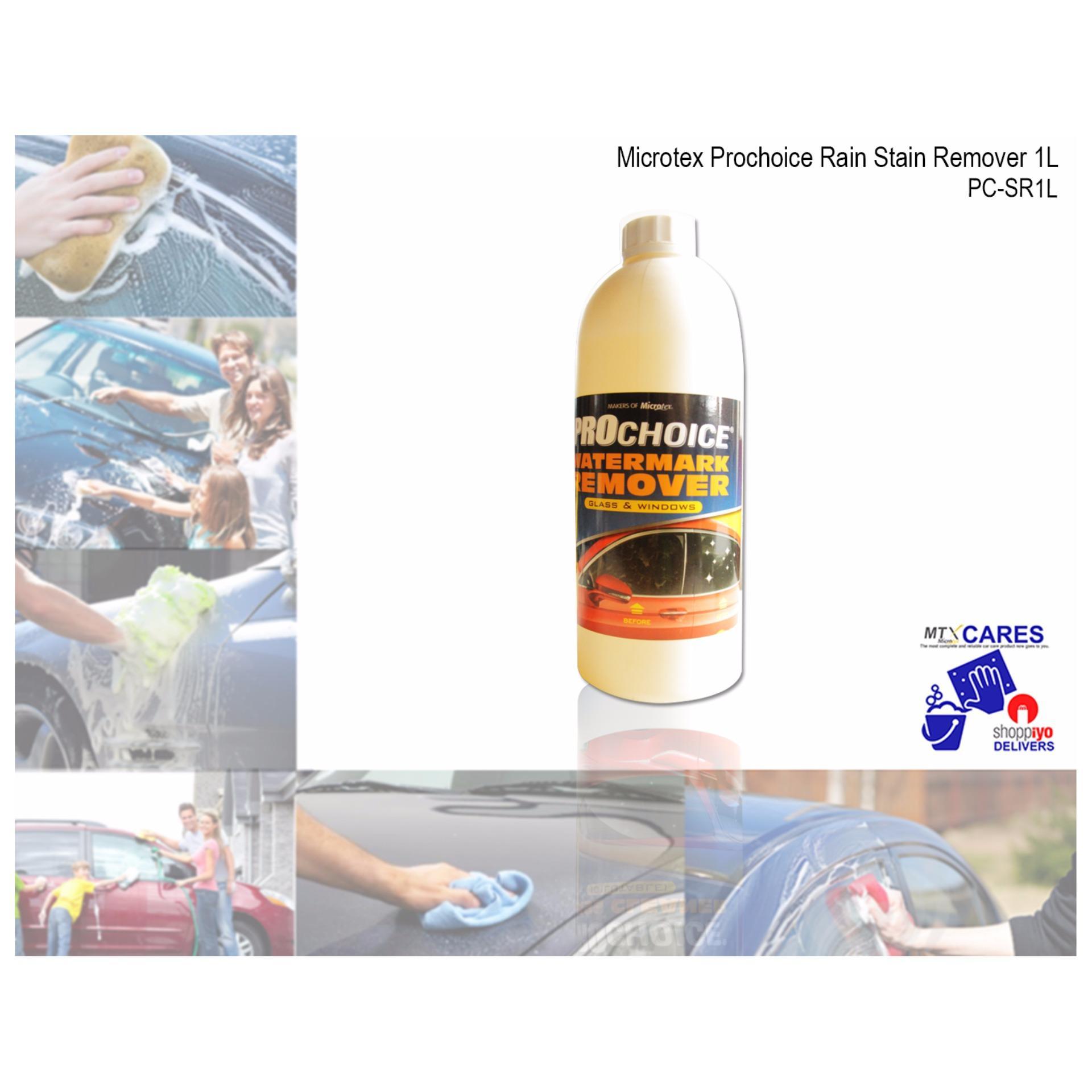 Color magic car polish silver - Microtex Pc Sr1l Prochoice Rain Stain Remover 1l Prochoice Series