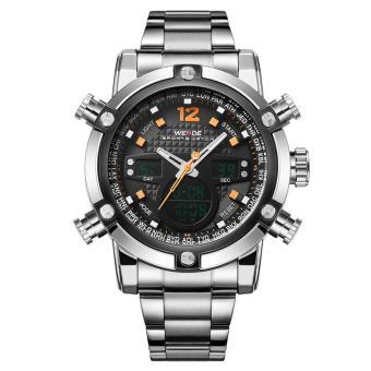 Military Watch Men 's Smart Waterproof Watch Special Luminous- Black - intl - 2