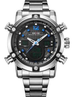 Military Watch Men 's Smart Waterproof Watch Special Luminous- Blue - intl Price Philippines