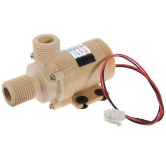 Mini DC 12V Electric Centrifugal Water Pump Low Noise - intl