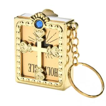 Mini Giftable Souvenir Bible Keychain English HOLY BIBLE ReligiousChristian Jesus with COVER Price Philippines