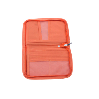 Mini Passport Holder (Orange) - 2
