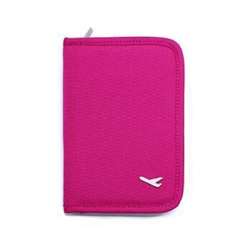 Mini Passport Holder (Pink)