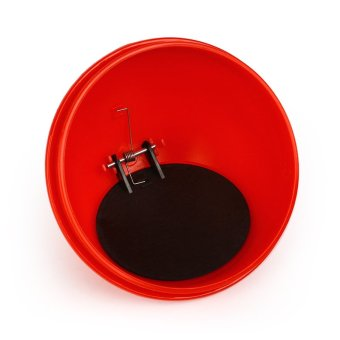 Mini Trash Can Rubbish Bin Garbage Dust Case Storage Holder For Home Office Auto Vehicle Car(Red) - 4