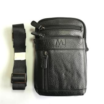 Mj by McJim BGF44-5322A-01 Sling Bag Leather (Black)