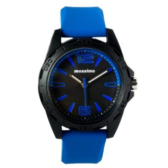 Mossimo The German Unisex Silicone Strap Watch MS-1510G-BLU (Blue) Price Philippines