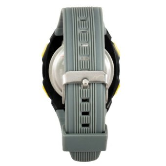 Mossimo Travis Unisex Grey Silicone Strap Watch MS-1408G-GRY - 3