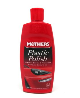 Mothers 06208 Plastic Polish 236ml