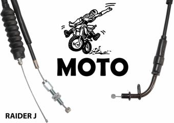 MOTO?? Endurance Motorcycle Throttle Cable RAIDER J
