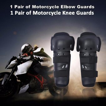 Motocross Protector Knee/Elbow Armor Guards Protector Pad BikerKnee/Elbow Guards Protector Safety Protector Accessories LegProtection