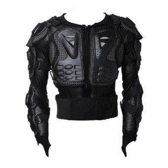 Motocross Racing Motorcycle Armor Protective Jacket Medium  (Black)