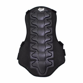 Motor Craze Motorcycle Motocross Back Protector Body Armour SpineProtector (Black)