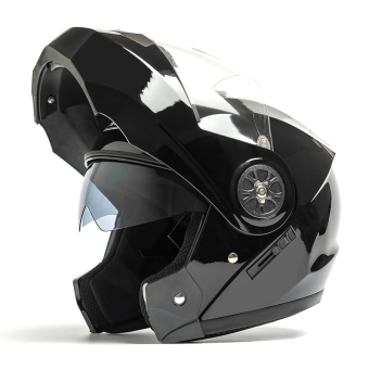 Motorbike AD Double Mirrors Anti-Fog Sun-Block Helmet