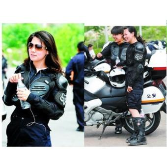 Motorbike Racing Gear Jacket Coat Motorcycle Body Armor Motocross Fox Back Protector XXXL - 4