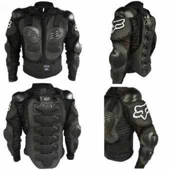 Motorbike Racing Gear Jacket Coat Motorcycle Body Armor Motocross Fox Back Protector XXXL - 3