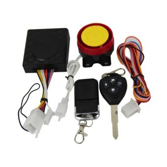 Motorcycle Alarm System (Multicolor)