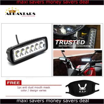 Motorcycle Car 6 LED Light Bar Fog Light Flood LED for Suzuki Smash115