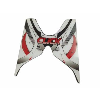 Motorcycle Footboard for Honda Click - White