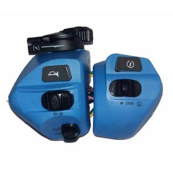 MOTORCYCLE HANDLE SWITCH FOR MIO - BLUE Price Philippines