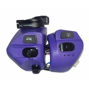 MOTORCYCLE HANDLE SWITCH FOR MIO - VIOLET