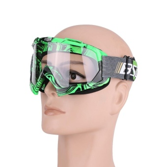 Motorcycle Motocross Off Road Dirt Bike Racing Goggles Glasses EyesProtection #4 - intl