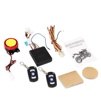 Motorcycle Motorbike Anti-theft Safety Security Remote VibrationSensor Alarm