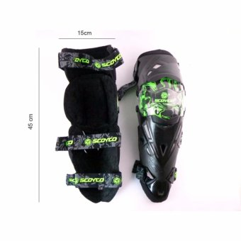 Motorcycle Protective kneepad Authentic Motorcycle Knee Protector Motocross Racing Guard Knee Pads Protective Gear Scoyco - intl - 5