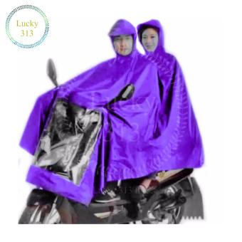 Motorcycle Raincoat Moto Rain Double Person (Violet) Price Philippines