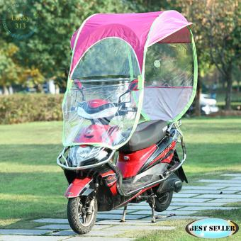 Motorcycle Umbrella Roof Cover Purple