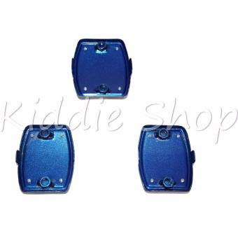 MSM5035 3 PCS Non-Slip Pedal Foot Threadle Cover Pad (BLUE) - 3