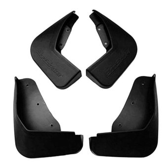 Mud Flap Mud Guard for Ford EcoSport (Black)