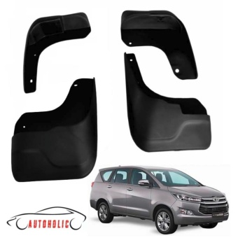 Mud Flap or Mudguard for Toyota Innova 2016 to 2017 (4 pieces)