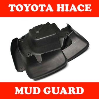 Mudguard or Mud Guard for Toyota Hiace Commuter 2007 to 2017
