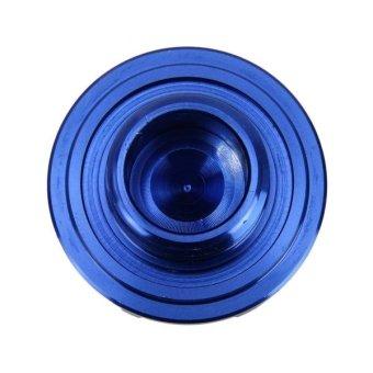 MUGEN Car Auto Stainless Steel Fuel Oil Gas Tank Cap Cover Trim ForHonda(Blue) - intl - 4