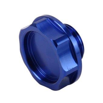 MUGEN Car Auto Stainless Steel Fuel Oil Gas Tank Cap Cover Trim ForHonda(Blue) - intl - 2