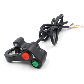 Multi-function Motorcycle Offroad Horn Turn Signal On/Off Light Switch 12V