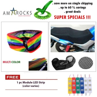 Multicolor Motorcycle Scooter Bike Moped Seat Cover Breathable Mest Net Cushion Universal Compatible for Kymco super 8 125