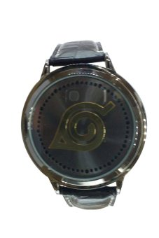 Naruto Konoha Symbol LED Watch (Black)