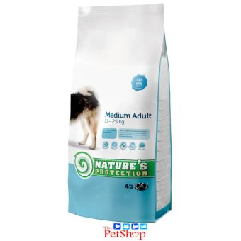 Nature's Protection Medium Adult Dog Food 4Kg