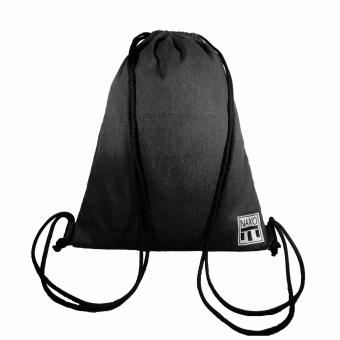 NAXO Plain Drawstring (Charcoal)