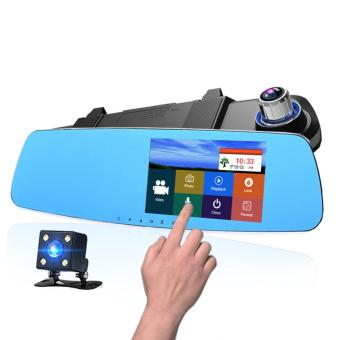 NEW 5.0 inch Touch Screen Rearview Mirror Car Dvr Wide Angle 1080P Camera (A80)