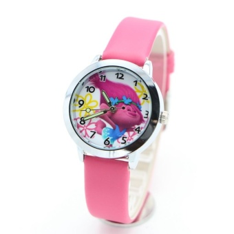 new fashion troll Watches Children Kids Boys gift Watch CasualQuartz Wristwatch - intl