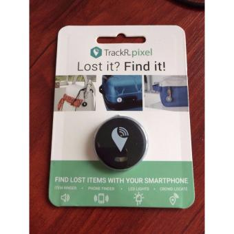 NEW Genuine Tracker Trackr Pixel Track Key Bag Phone iPad Tracking Pet Dog Bluetooth Track Misplaced Device - BLACK Color