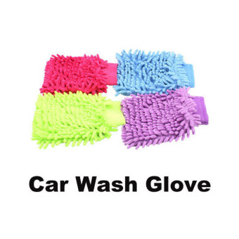 New Microfiber Car Washing Cleaning Glove Mitt N - picture 2