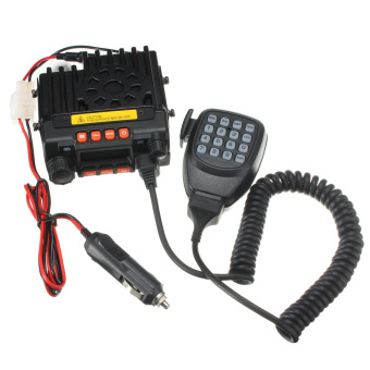 New QYT KT 8900 136-174/400-480MHz Dual Band 25W Mini Mobile Radio Transceiver - Intl